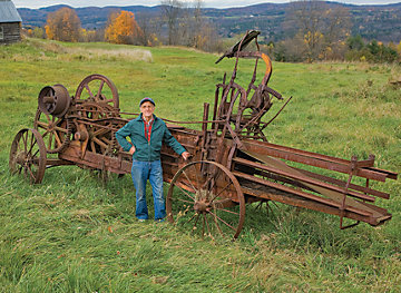 vintage farm machinery impliments