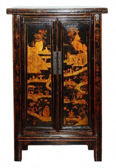 antique cabinets asian