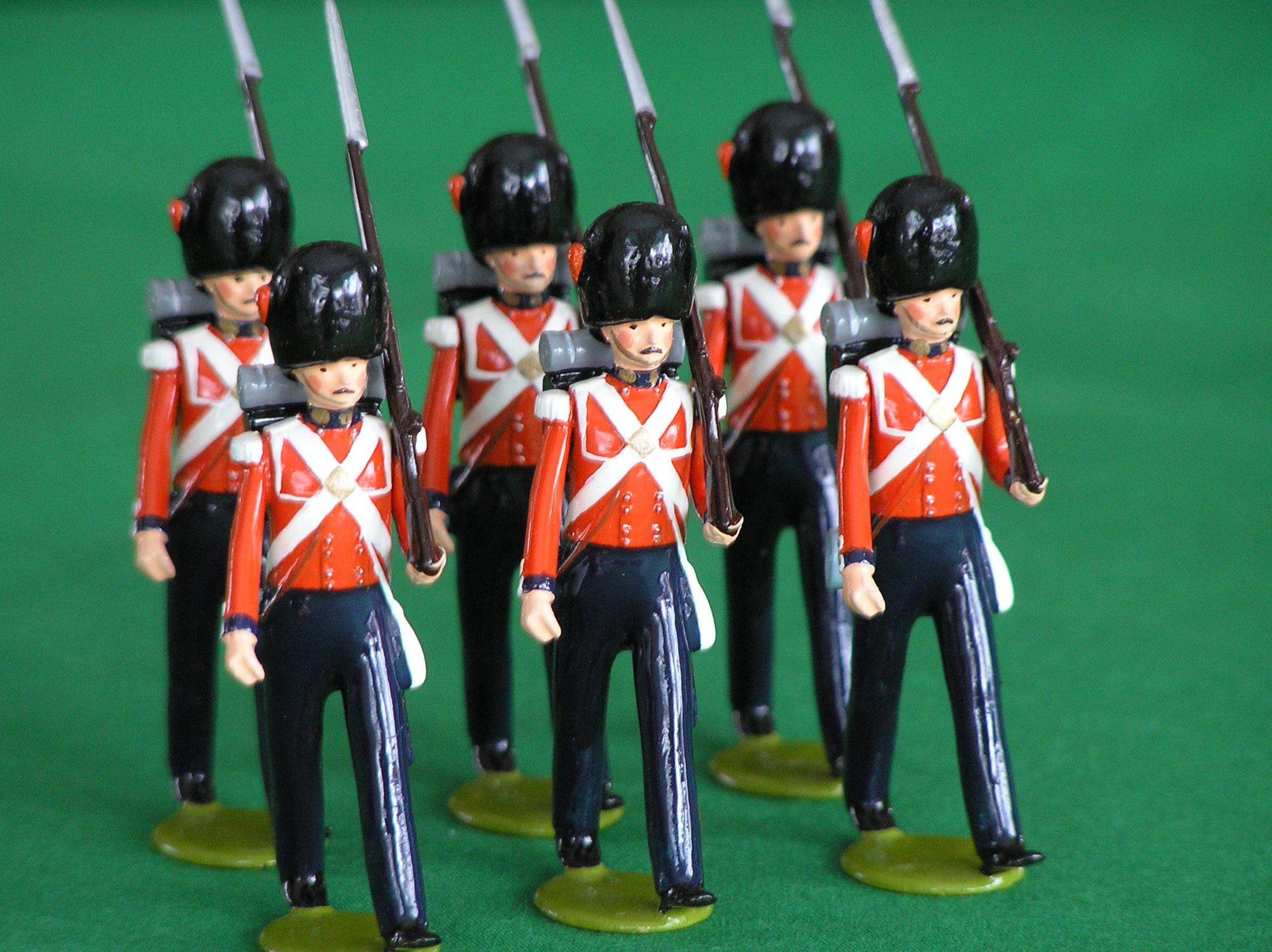 soldiers vintage toy