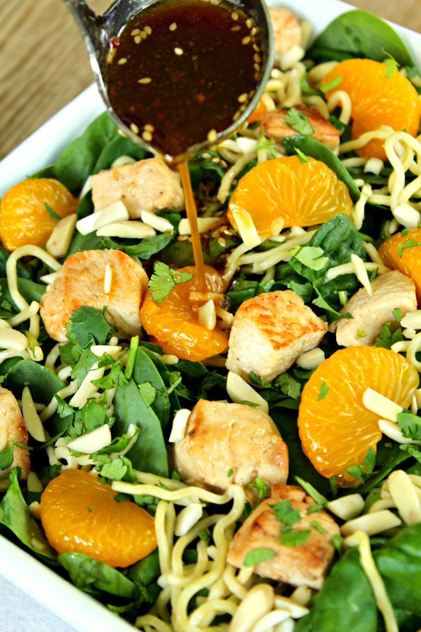 orange asian mandarin salad