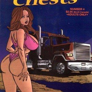 treasure porn chest cartoon