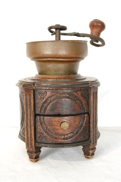 vintage antique coffee grinders