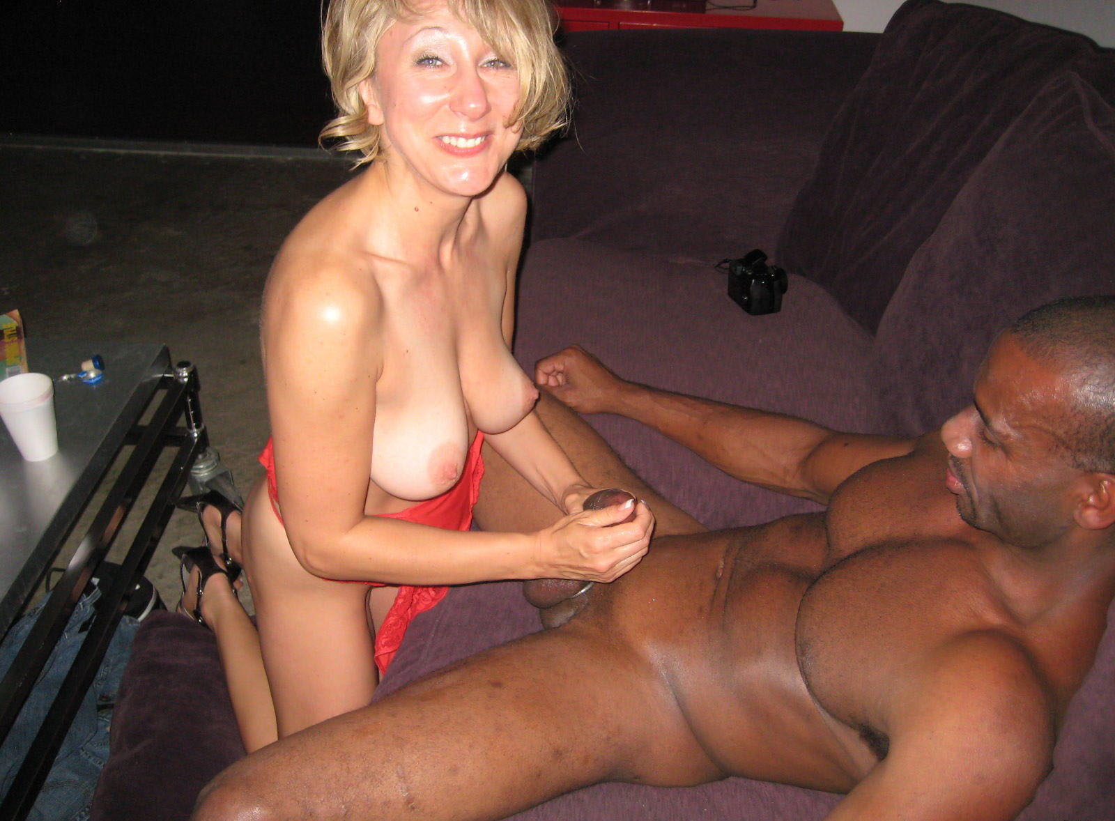 white interracial wife adult black