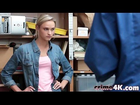 cop man blond girl fucks sexy