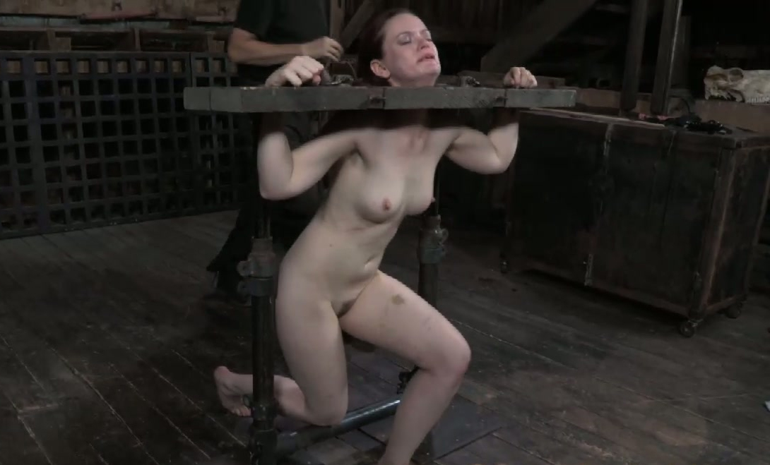 a giving handjob table the under