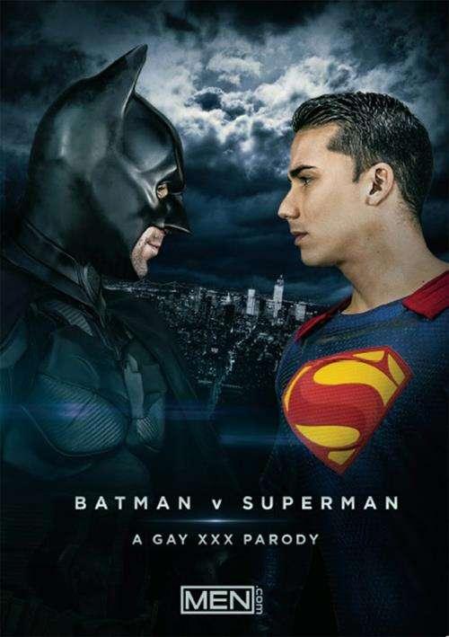 porn vs batman superman parody