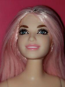 nude pink hair