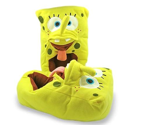 slipper adult bob sponge