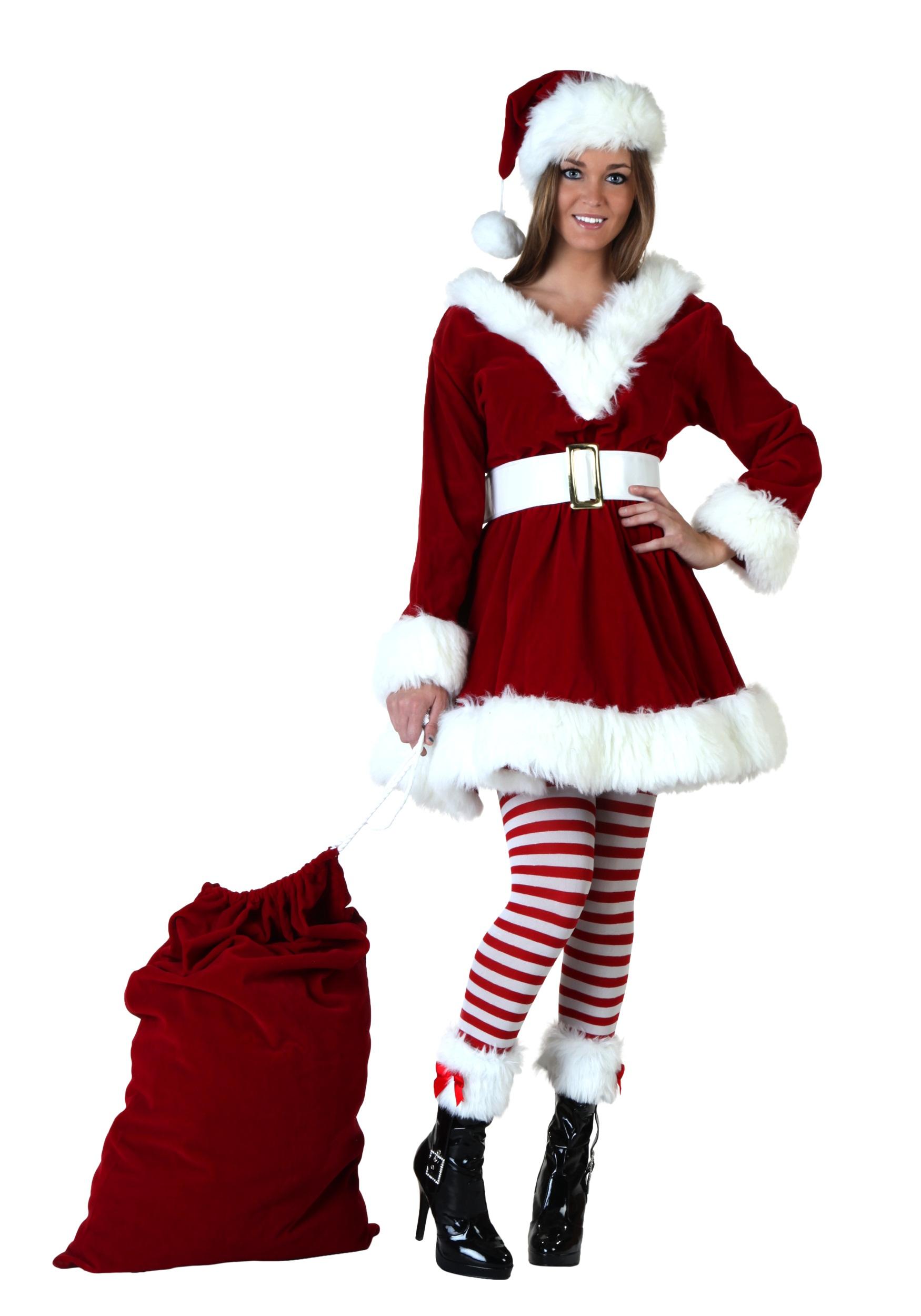 sexy helper costume santa