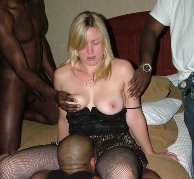 gangbang interracial amateur