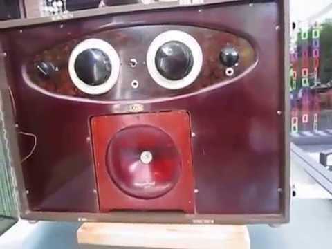 vintage france tube radio lgm