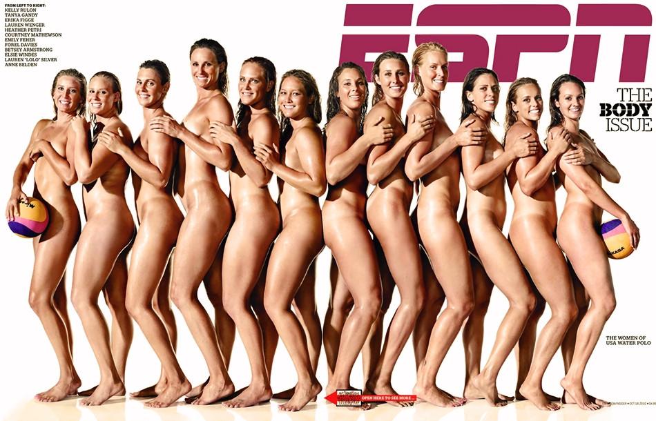 curling team nude