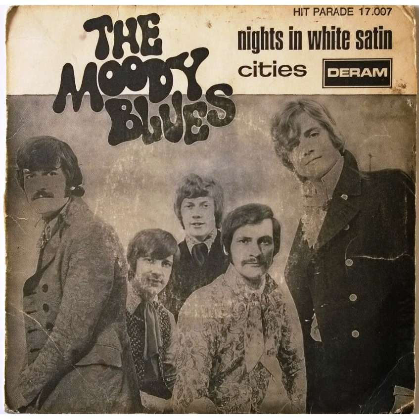 night moody white satin blues