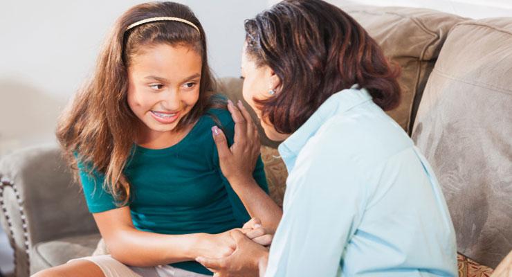 parent to talk teen