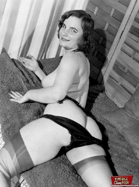 porn vintage pics stockings