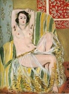 nude matisse odalisque