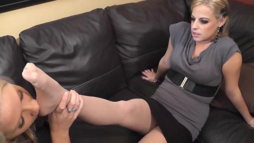 lesbian nylon fetish