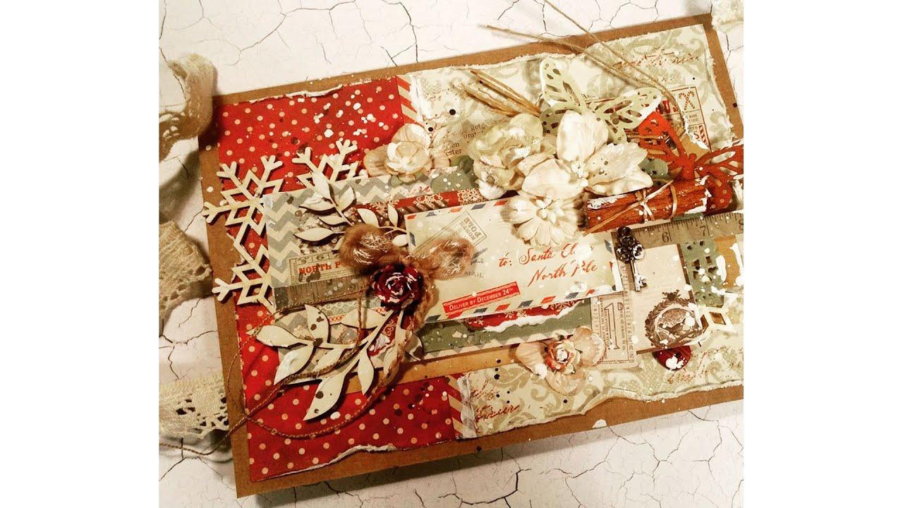 vintage christmas scrapbook
