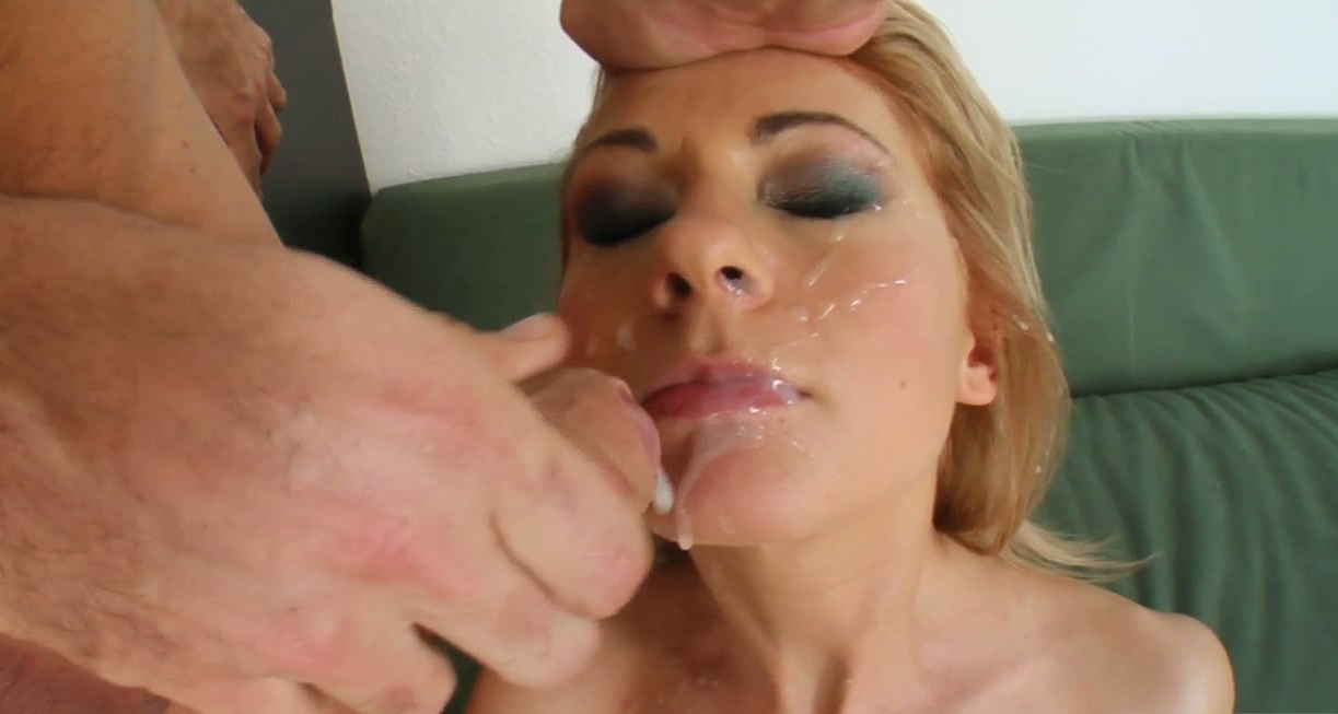 latex in blondes anal