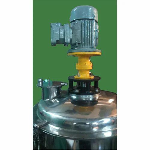 chemical bottom agitator blender