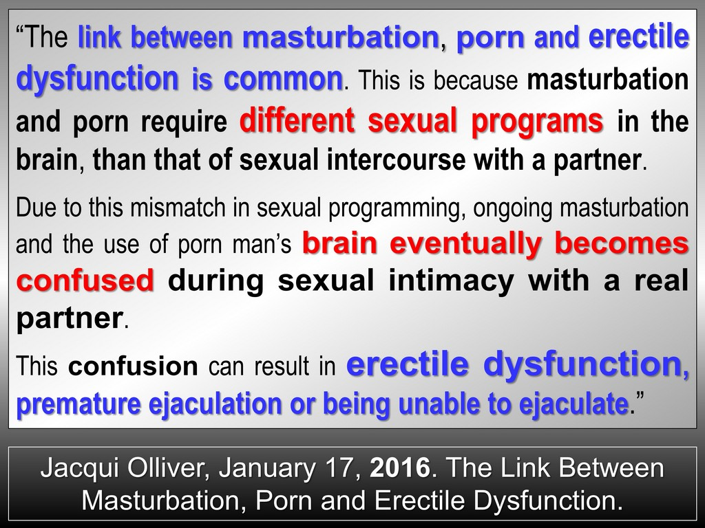 masturbation brain chronic
