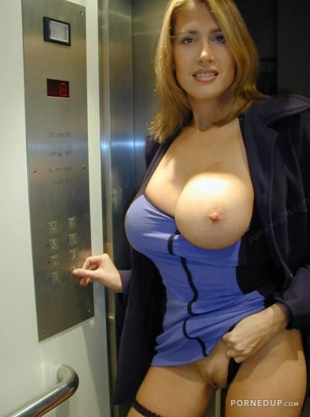 big in elevator tits