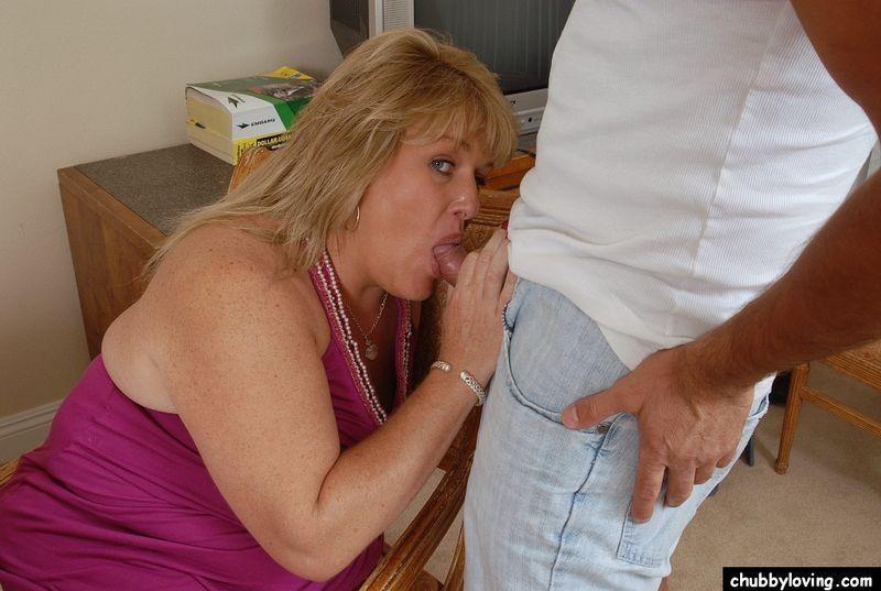 cocks sucking fat mature women