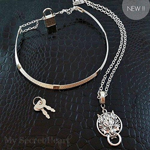 bdsm collar jewelry