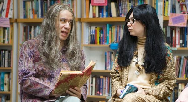 portlandia bookstore youtube lesbian