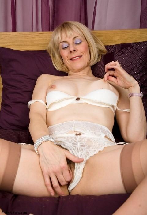 lacy underwear milf