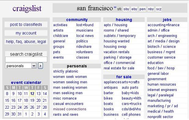 craigslist what nsa mean on is