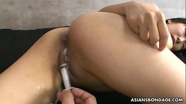 asian cum inside pussy
