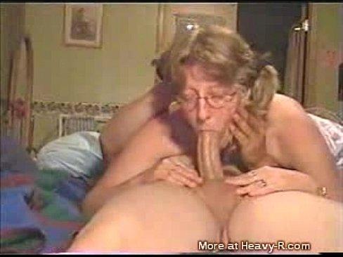 throat cum grandmom deep