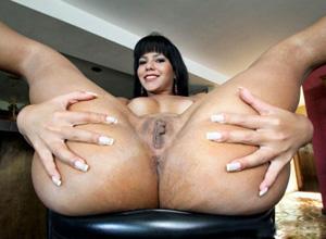 big spread ass cheeks