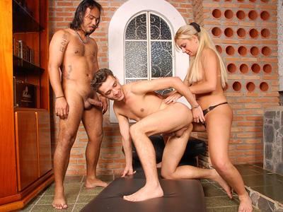 big bisexual orgy