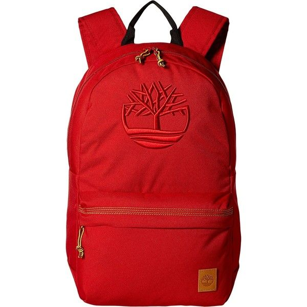 leather with bottom backpack timberland