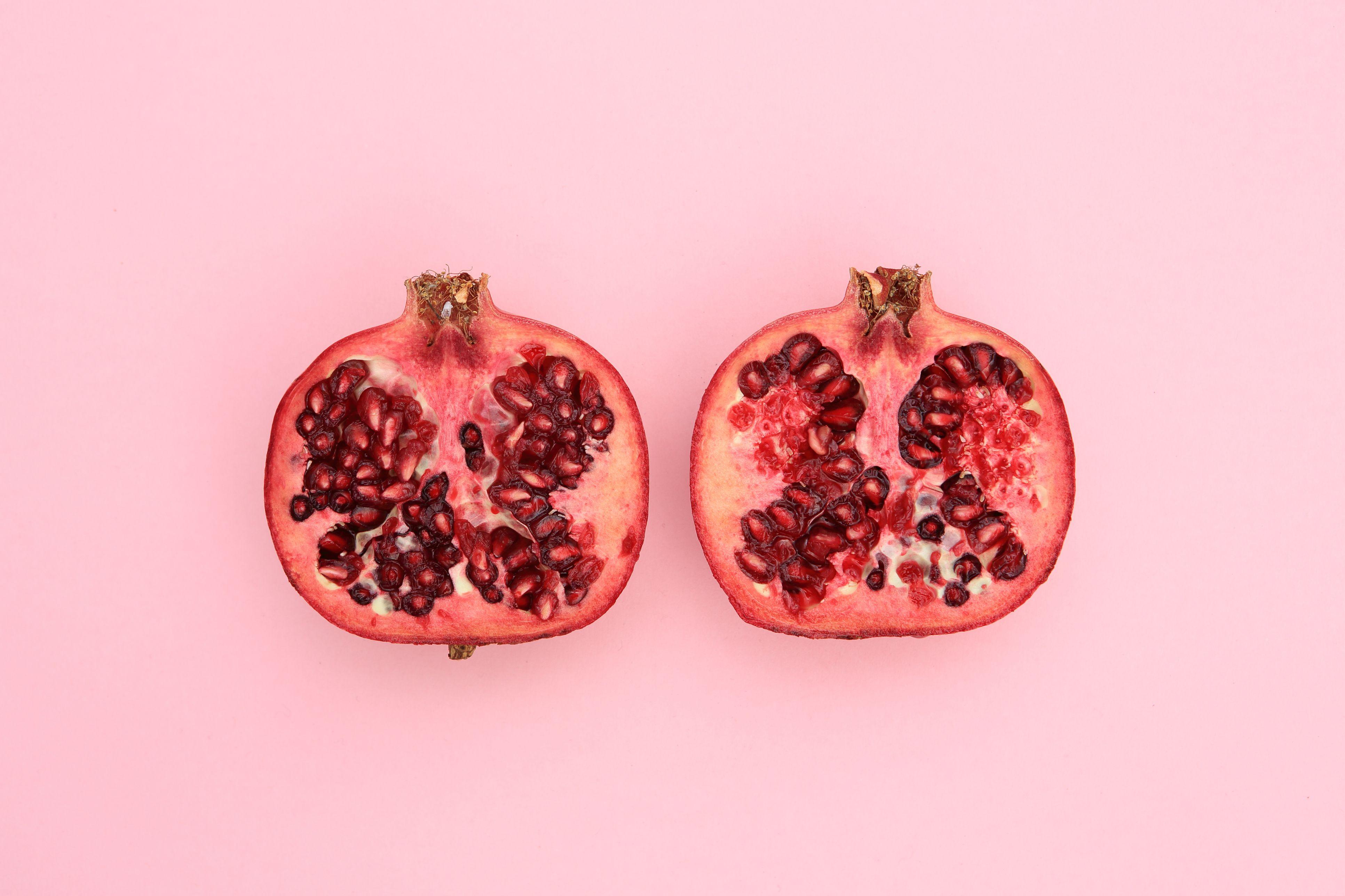 wall dark vaginal spots on